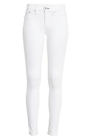 rag & bone Cate Skinny Jeans | white