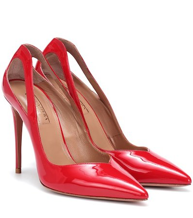 Shiva 105 patent leather pumps