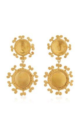 Sue Doble 24k Gold-Plated Earrings By Cano | Moda Operandi