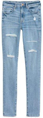 Skinny High Jeans - Blue