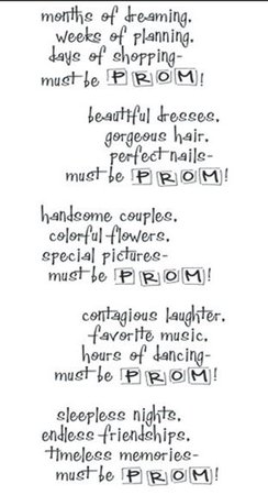 Prom poem #Topshoppromqueen | Quotes | Prom queens, Prom, Poems