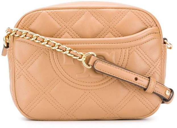 diamond quilted cross-body bag