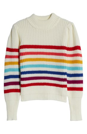 English Factory Rainbow Stripe Sweater | Nordstrom