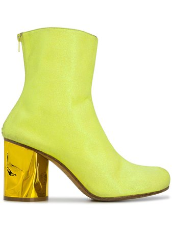Maison Margiela crushed heel ankle boots $1,215 - Buy Online - Mobile Friendly, Fast Delivery, Price