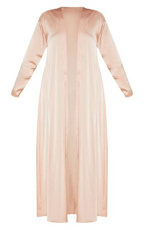 Champagne Satin Kimono | Coats & Jackets | PrettyLittleThing USA