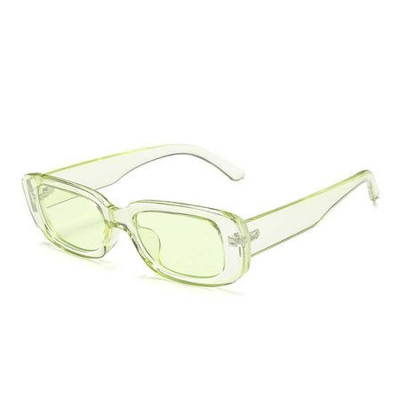 DAVE Classic Retro Sunglasses Women Brand Design Vintage Rectangle Sun Glasses Female Clear Blue Pink Green Lens Eyewear UV400|Women's Sunglasses| - AliExpress