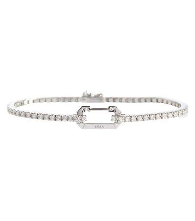EÉRA Paris 18kt white gold bracelet with diamonds