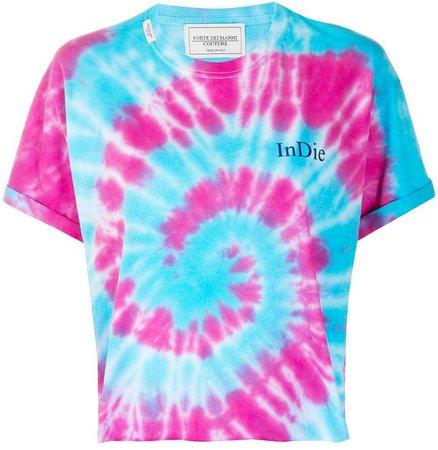 Forte Dei Marmi Couture cropped tie-dye T-shirt
