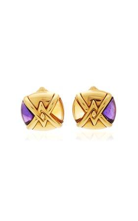 Eleuteri Vintage Marina B Pneus Cimin Earrings