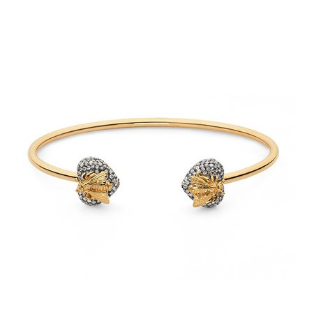 Gucci Le Marche des Marveilles 18kt Gold Bee Bracelet