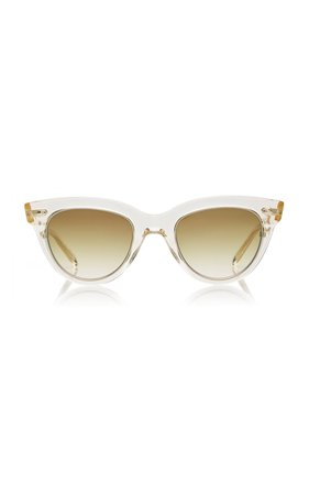 Madison S Cat-Eye Acetate Sunglasses by Mr. Leight | Moda Operandi