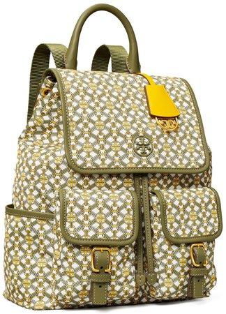 Piper Printed Flap Backpack