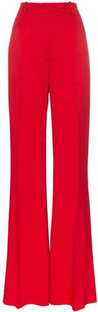 Carrie high-waist flared trousers