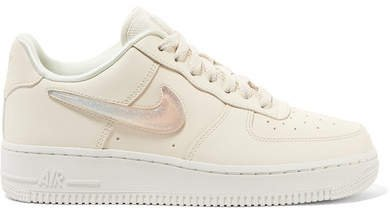 Air Force 1 '07 Lx Leather Sneakers - Cream