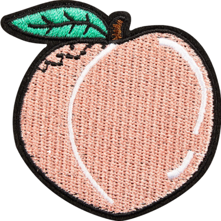 peach issapeach - Sticker by linda.griffyndor