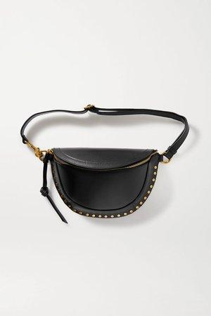 Black Skano studded leather belt bag | Isabel Marant | NET-A-PORTER