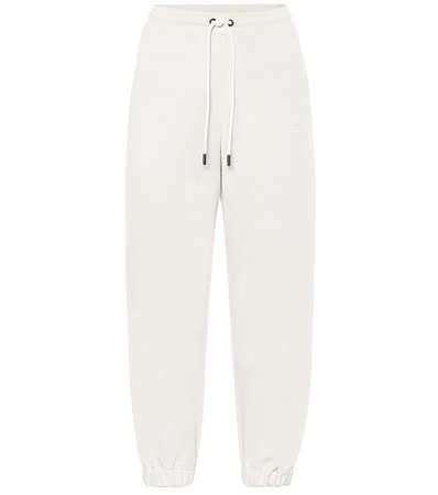Reebok x Victoria Beckham - Relaxed cotton-jersey trackpants | Mytheresa