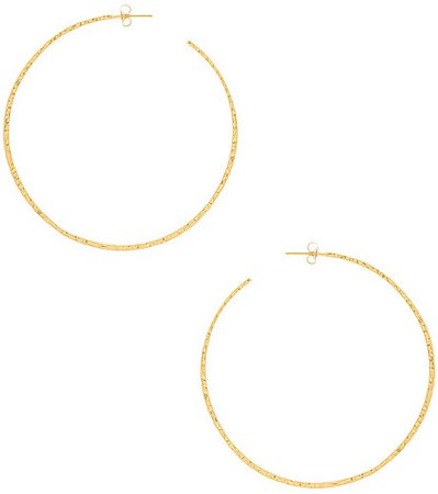 Taner XL Hoop Earrings