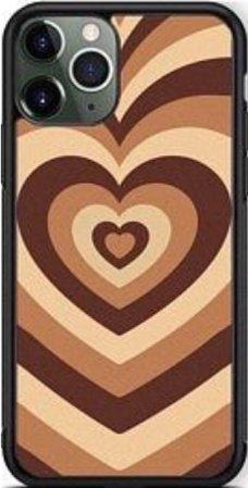 brown phone