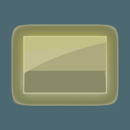 3d 3deffect frame frames border yellow...