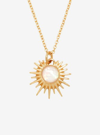 Sun Opal Necklace