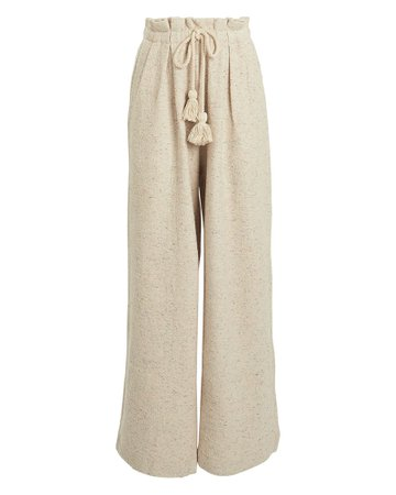 Ulla Johnson | Ayana Speckled Fleece Pants | INTERMIX®