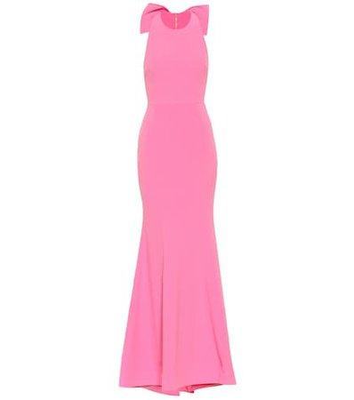 Love crêpe gown