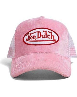 Von Dutch Velvet Trucker Hat