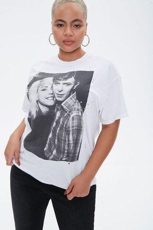 Plus Size Blondie & Bowie Graphic Tee