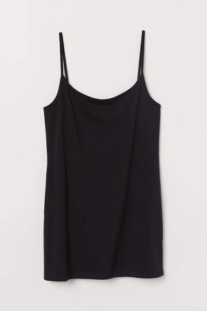 H&M+ Long Tank Top - Black