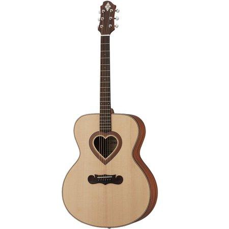 Zemaitis Jumbo Heart Hole Acoustic Guitar
