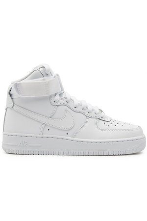 Nike - Air Force 1 High Leather Sneakers - white