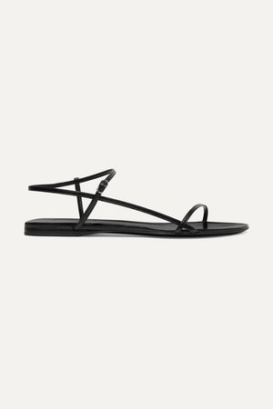 The Row | Bare leather sandals | NET-A-PORTER.COM