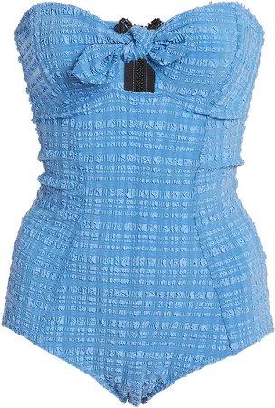 Poppy Bandeau Cutout Swimsuit