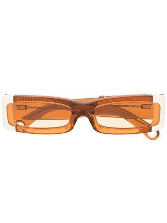 Jacquemus Les Lunettes 97 rectangular-frame Sunglasses - Farfetch