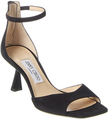 Reon 65 Ankle Wrap Suede Sandal
