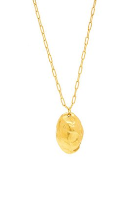 The Tale Of The Cicada 24k Gold-Plated Necklace By Alighieri | Moda Operandi
