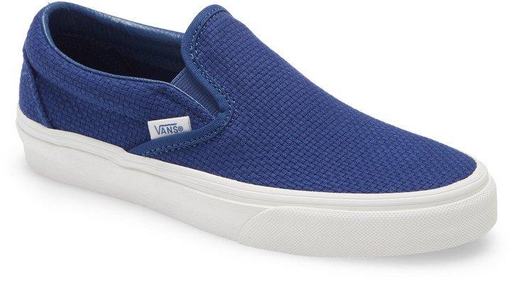Woven Check Classic Slip-On Sneaker