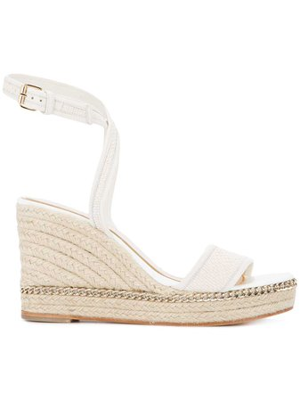 Lanvin Espadrille Wedge Sandals - Farfetch
