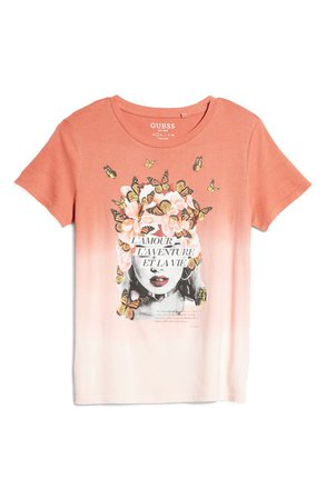 GUESS Amour Easy Graphic Tee | Nordstrom