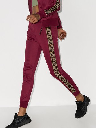 Fendi logo-stripe Track Pants - Farfetch