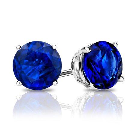 blue stud earrings - Google Search