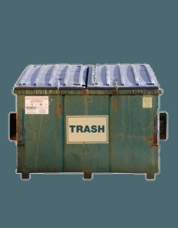 Green Trash Bin Filler