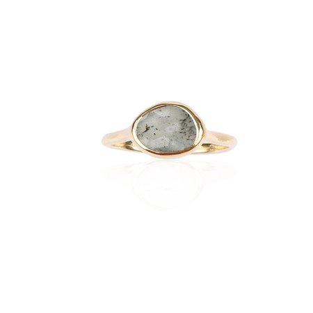 subyul luna beam ring labradorite - Google Search
