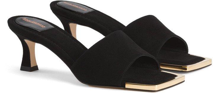 The Standout Square Toe Slide Sandal