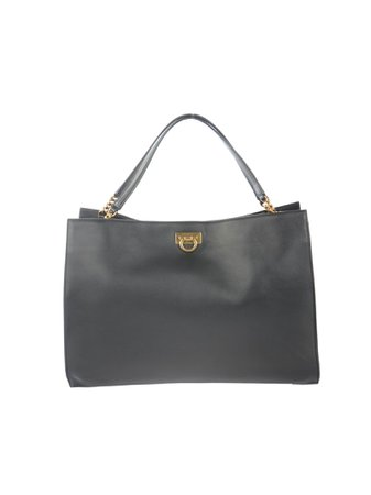 Trifolio Medium Calf Leather Tote Bag