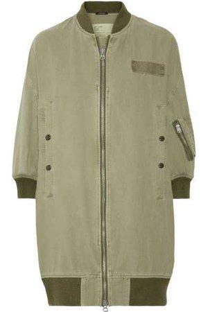 R13   Flight cotton and hemp-blend bomber jacket   NET-A-PORTER.COM
