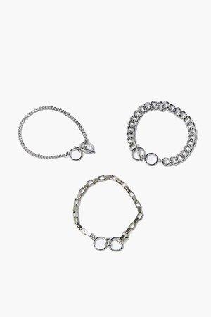 Toggle Chain Bracelet Set