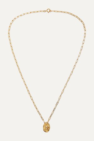 Alighieri | The Infinite Offering gold-plated necklace | NET-A-PORTER.COM