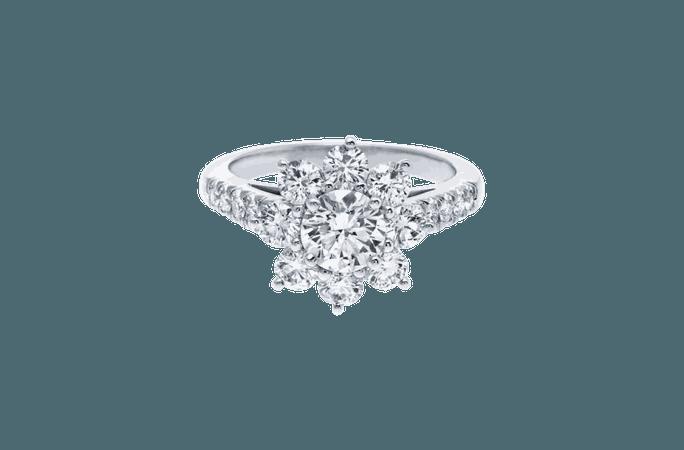 Sunflower by Harry Winston, Small Diamond Ring | Harry Winston